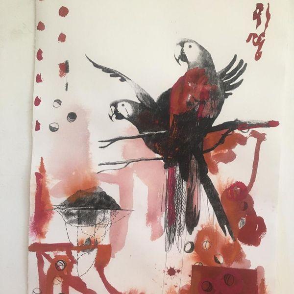 Artwork by Carlos Rezende, bersanetti contemporanea