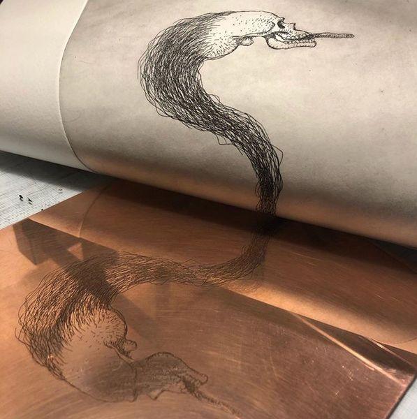 Artwork by Michael Kvium, Jesper Kramer (2 of 2)