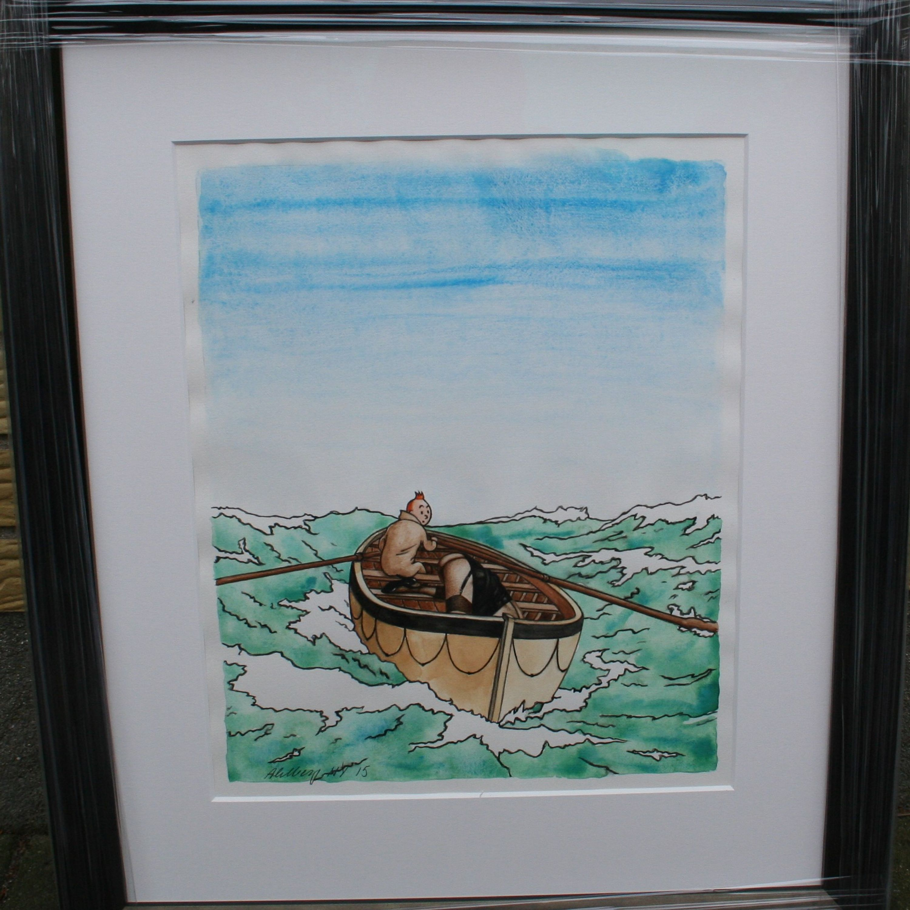 The Boat by Ole Ahlberg, KM Collection